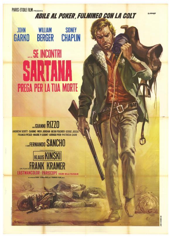 Sartana poster